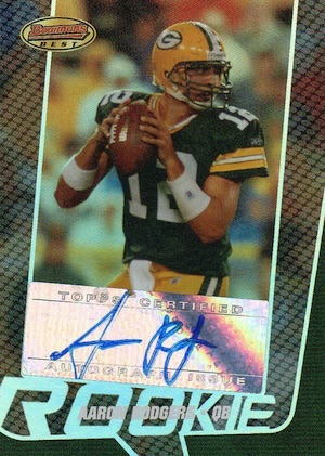Top Aaron Rodgers Rookie Cards to Collect 8