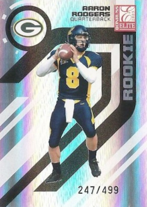 Top 15 Aaron Rodgers Rookie Cards 2