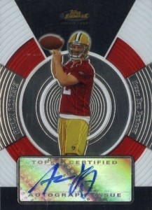 2005 Finest Aaron Rodgers RC #151 Autograph