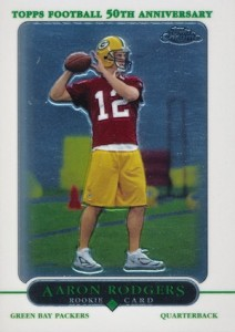 2005 Topps Chrome Aaron Rodgers RC #190