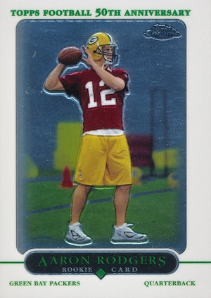 Top 15 Aaron Rodgers Rookie Cards 1