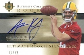 Top 15 Aaron Rodgers Rookie Cards