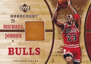 2006-07 Upper Deck Harcourt Game Floor Michael Jordan