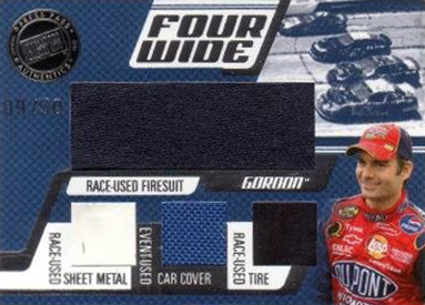 2006 Press Pass Four Wide Jeff Gordon