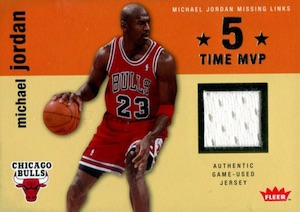 2007-08 Fleer Michael Jordan Missing Links Jerseys #MJ