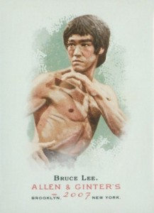 2007 Allen & Ginter Base Bruce Lee