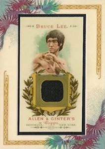 2007 Allen & Ginter Relic Bruce Lee