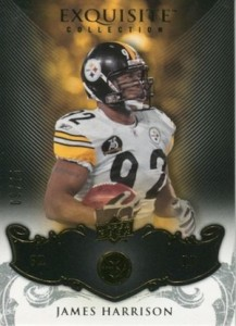 2008 Exquisite James Harrison RC #78