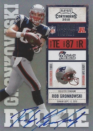 Rob Gronkowski Rookie Card Guide and Checklist 2