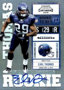 2010 Panini Contenders Earl Thomas RC #135 Autograph