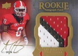 2011 Exquisite Collection AJ Green #151