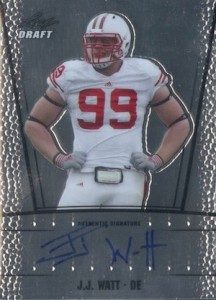 2011 Leaf Metal Draft Autographs J.J. Watt