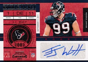 10 J.J. Watt Rookie-Year Cards to Start Your Collection  10