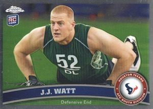 2011 Topps Chrome J.J. Watt RC #331