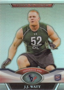 10 J.J. Watt Rookie-Year Cards to Start Your Collection  9