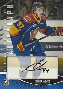 2012-13 ITG Heroes and Prospects Autographs Connor McDavid