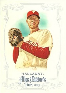 2013 Allen and Ginter Roy Halladay