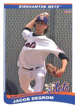 Jacob deGrom Rookie Cards Checklist and Top Prospect Cards 18