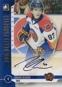 2013 ITG Draft Prospects Autograph Gold Connor McDavid