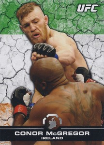 2013 Topps UFC Bloodline Base Flag Parallel Conor McGregor