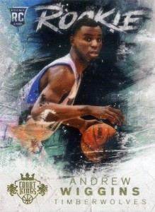 2014-15 Panini Court Kings Andrew Wiggins RC #101