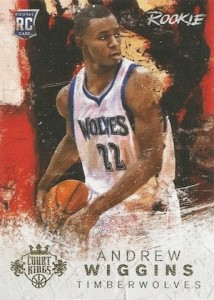 2014-15 Panini Court Kings Andrew Wiggins RC #134