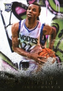 2014-15 Panini Court Kings Andrew Wiggins RC #167