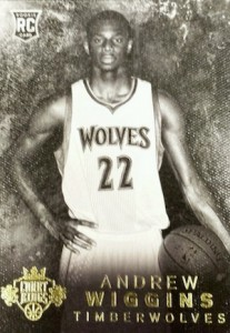 2014-15 Panini Court Kings Andrew Wiggins RC #200