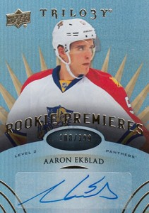 2014-15 Upper Deck Trilogy Aaron Ekblad 399