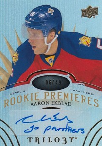 2014-15 Upper Deck Trilogy Aaron Ekblad 49