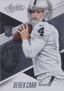 Derek Carr Rookie Card Gallery and Checklist 1