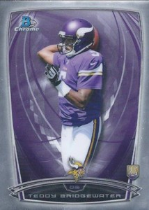 2014 Bowman Chrome Football Variation Short Prints 3