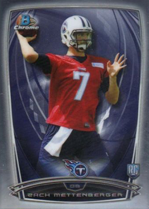 2014 Bowman Chrome Football Variation Short Prints 9