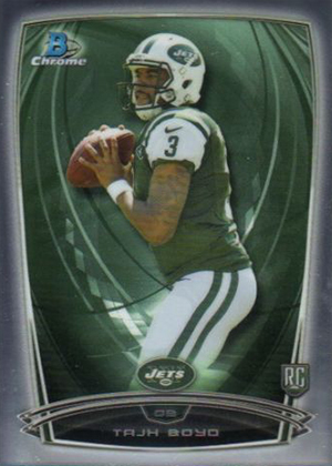 2014 Bowman Chrome Football Variation Short Prints 11