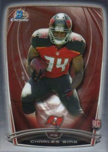 2014 Bowman Chrome Football Variation Short Prints 12