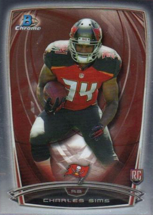 2014 Bowman Chrome Football Variation Short Prints 17