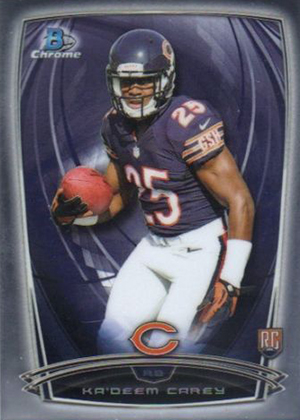 2014 Bowman Chrome Football Variation Short Prints 18