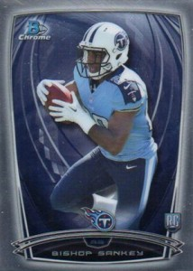 2014 Bowman Chrome Football Variation Short Prints 15