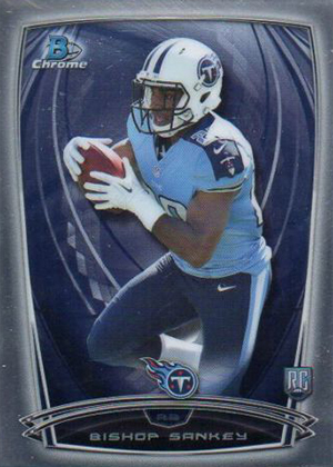 2014 Bowman Chrome Football Variation Short Prints 20
