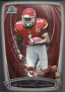 2014 Bowman Chrome Football Variation Short Prints 16