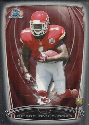 2014 Bowman Chrome Football Variation Short Prints 21