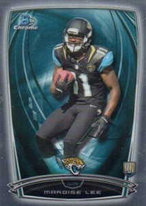 2014 Bowman Chrome Football Variation Short Prints 24