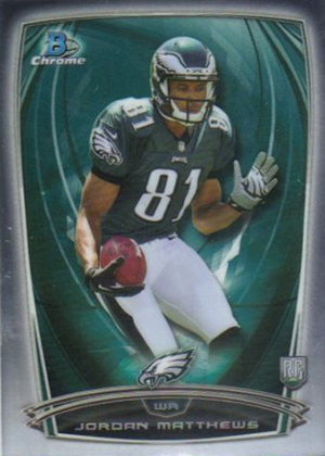 2014 Bowman Chrome Football Variation Short Prints 31