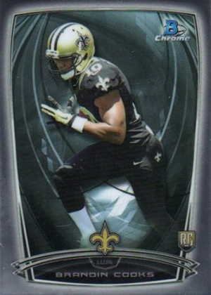 2014 Bowman Chrome Football Variation Short Prints 35