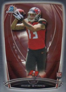 2014 Bowman Chrome 170 Mike Evans