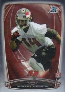 2014 Bowman Chrome Football Variation Short Prints 34