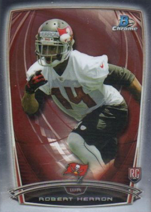 2014 Bowman Chrome Football Variation Short Prints 39