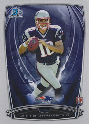 2014 Bowman Chrome Football Variation Short Prints 42