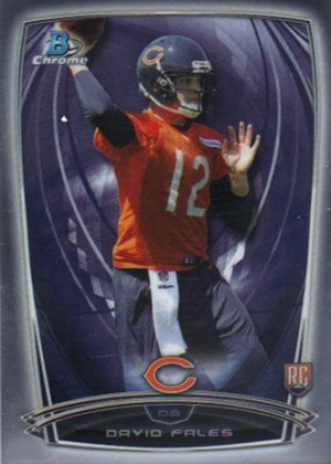 2014 Bowman Chrome Football Variation Short Prints 43