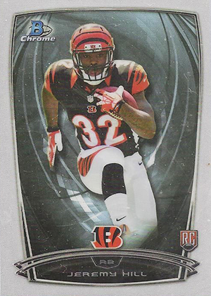 2014 Bowman Chrome Football Variation Short Prints 51